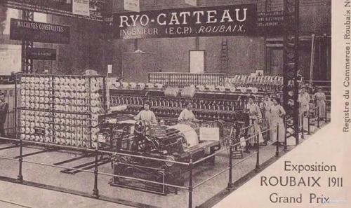 Фабрика Ryo Catteau в 1911