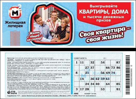 жилищная лотерея в пятерочке проверить билет