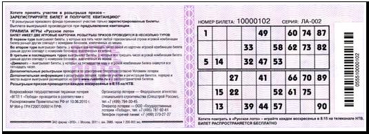 Где получить выигрыш русское лото киров